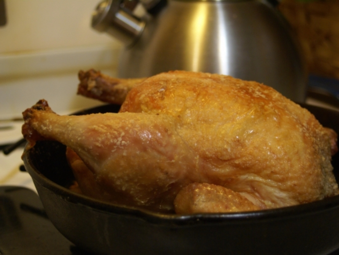 The Smoking Gun by PolyScience: Smoking a Roasted Chicken