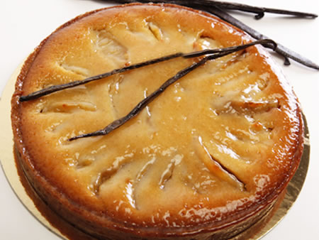 Francois Payard's Apple Honey Cake